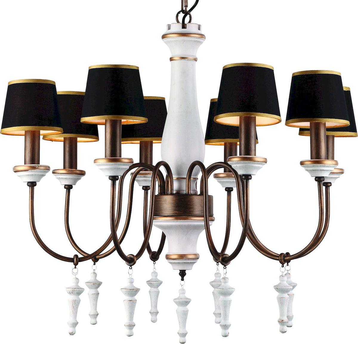 Светильник подвесной Arte Lamp Fortezza A1843LM-8BGA1843LM-8BG
