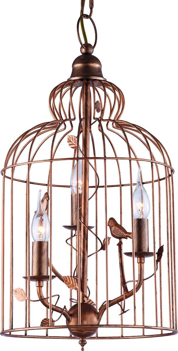 Светильник подвесной Arte Lamp Gabbia A1865SP-3BGA1865SP-3BG