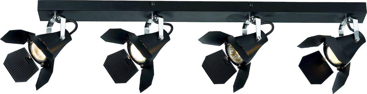 Светильник потолочный Arte Lamp CINEMA A3092PL-4BKA3092PL-4BK