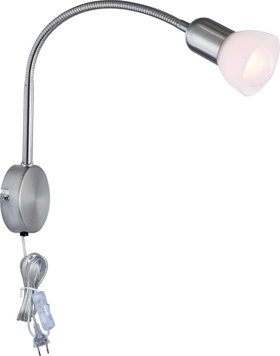 Светильник настенный Arte Lamp FALENA A3116AP-1SSA3116AP-1SS