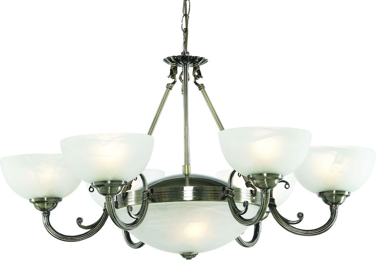 Светильник подвесной Arte Lamp Windsor White A3777LM-6-2ABA3777LM-6-2AB
