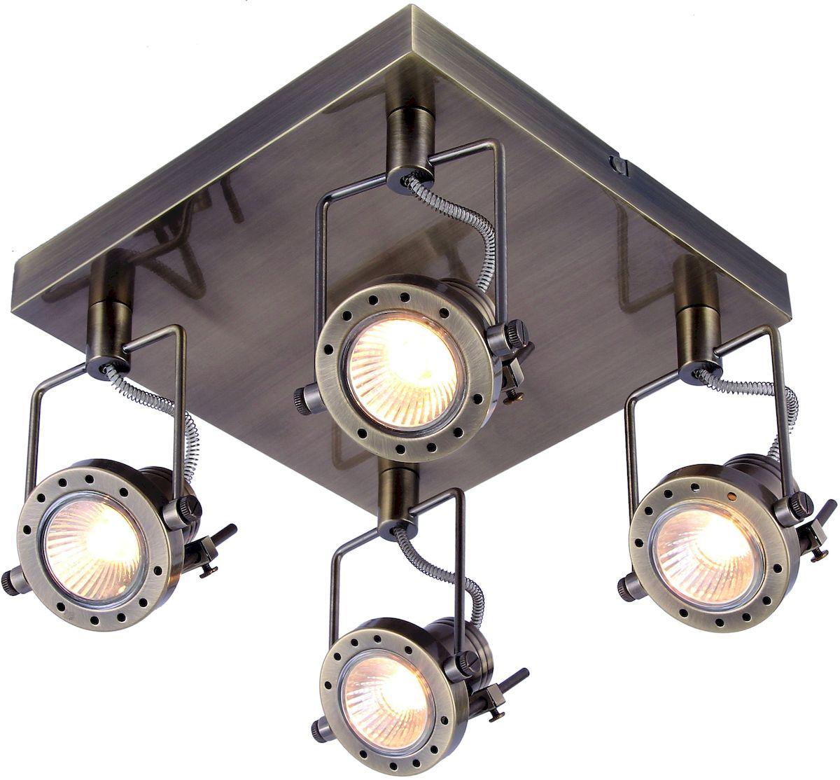 Светильник потолочный Arte Lamp COSTRUTTORE A4300PL-4ABA4300PL-4AB
