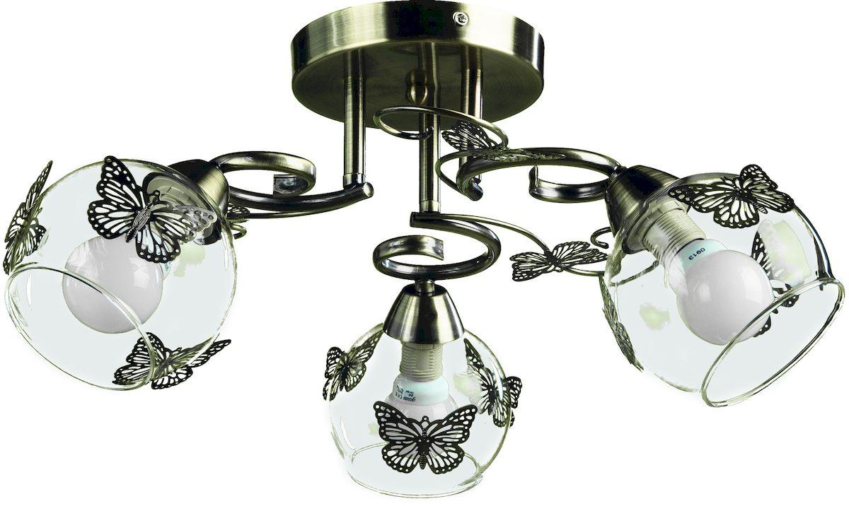 Светильник потолочный Arte Lamp ALESSANDRA A5004PL-3ABA5004PL-3AB