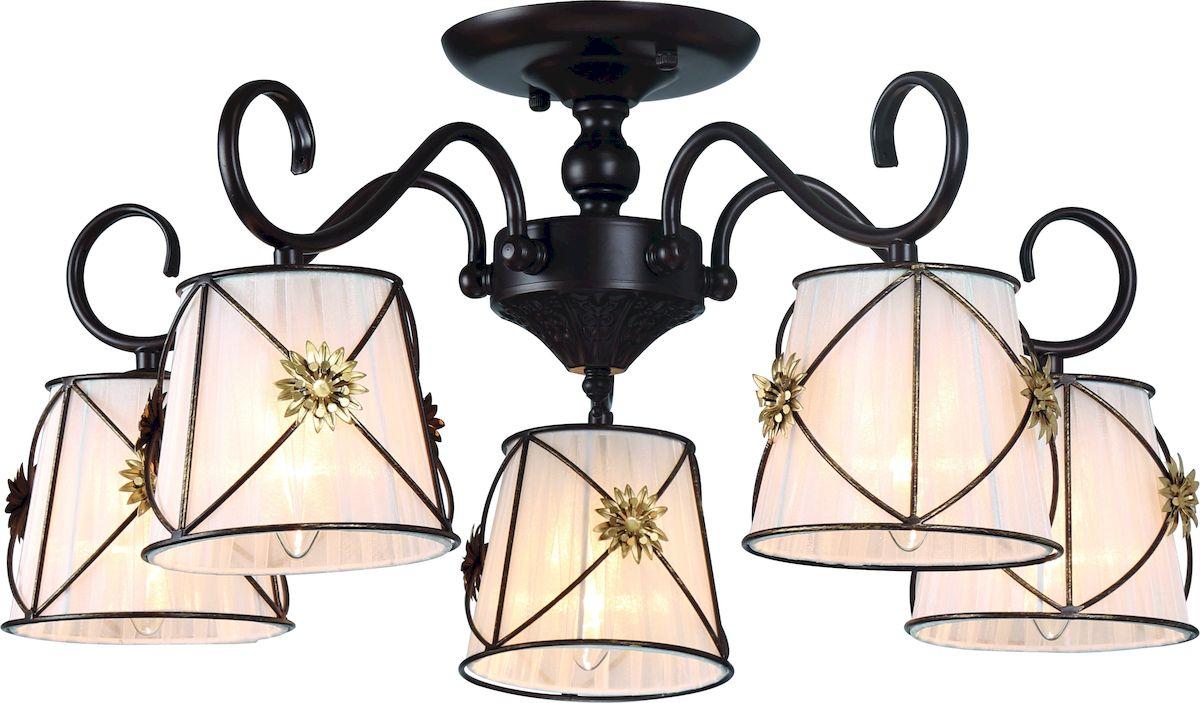 Светильник потолочный Arte Lamp Fortuna A5495PL-5BRA5495PL-5BR