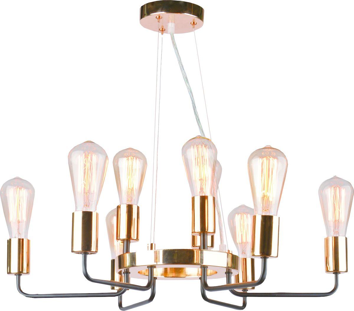 Светильник подвесной Arte Lamp GELO A6001LM-9BKA6001LM-9BK