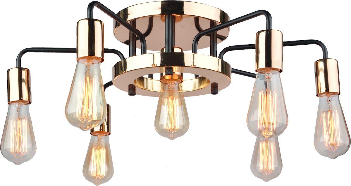 Светильник потолочный Arte Lamp GELO A6001PL-7BKA6001PL-7BK