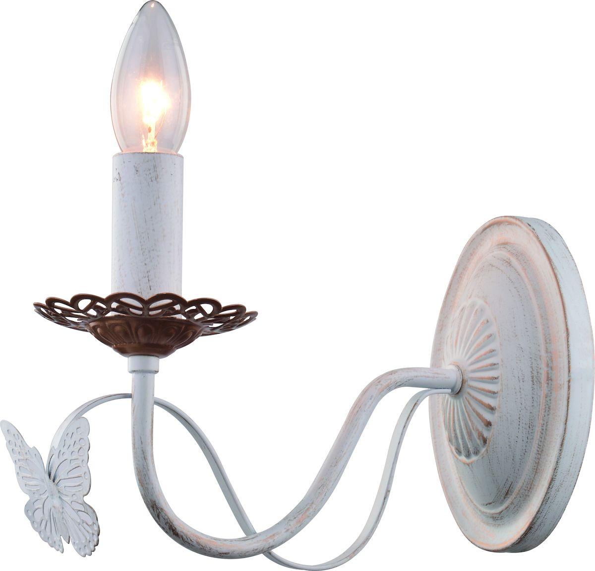 Светильник настенный Arte Lamp ALI A6114AP-1WGA6114AP-1WG