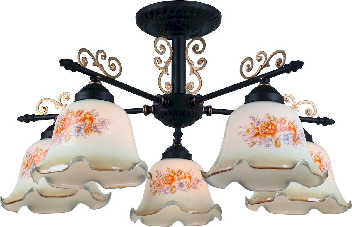 Светильник потолочный Arte Lamp AROMA A6582PL-5BRA6582PL-5BR