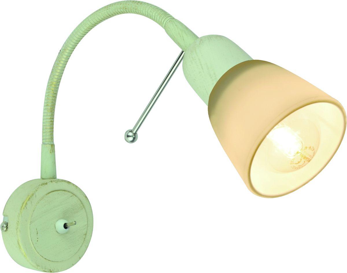 Светильник настенный Arte Lamp LETTURA A7009AP-1WGA7009AP-1WG