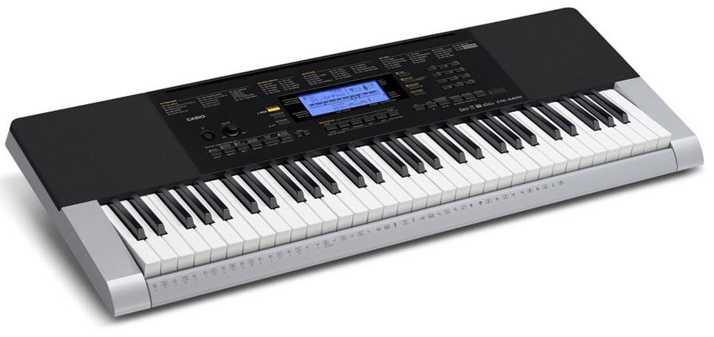 Casio CTK-4400, Gray цифровой синтезатор