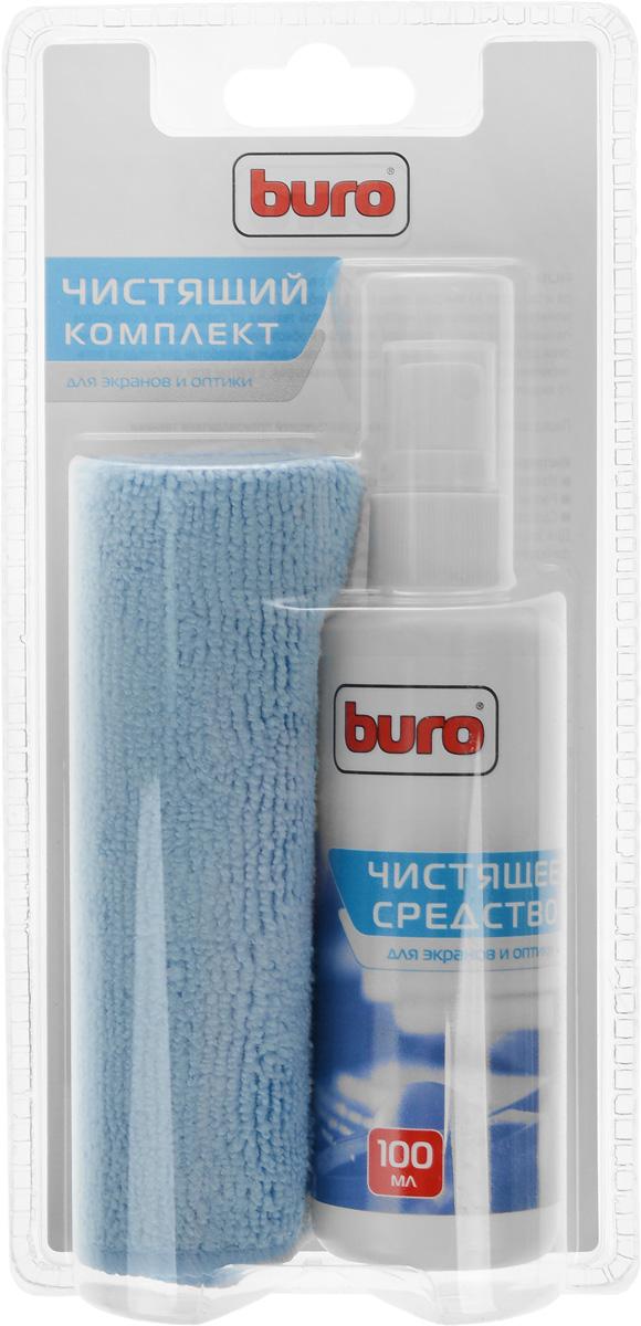 Чистящий набор для экранов и оптики Buro BU-S/MF, 100 млBU-S/MFЧистящий набор Buro BU-S/MF состоит из спрея-очистителя помпового типа и салфетки из микроволокна. Предназначен для очистки экранов мониторов, телевизоров, ноутбуков и другой техники от грязи, пыли и отпечатков пальцев. Не оставляет разводов и обеспечивает длительный антистатический эффект. Состав чистящего средства специально разработан для ухода за оптическими поверхностями мониторов и телевизоров, с учетом всех особенностей этого вида техники. Состав: Чистящее средство: вода, неионогенные ПАВ Салфетка из микроволокна 25 см х 25 см: полиамид 70%; полиэстер 30%