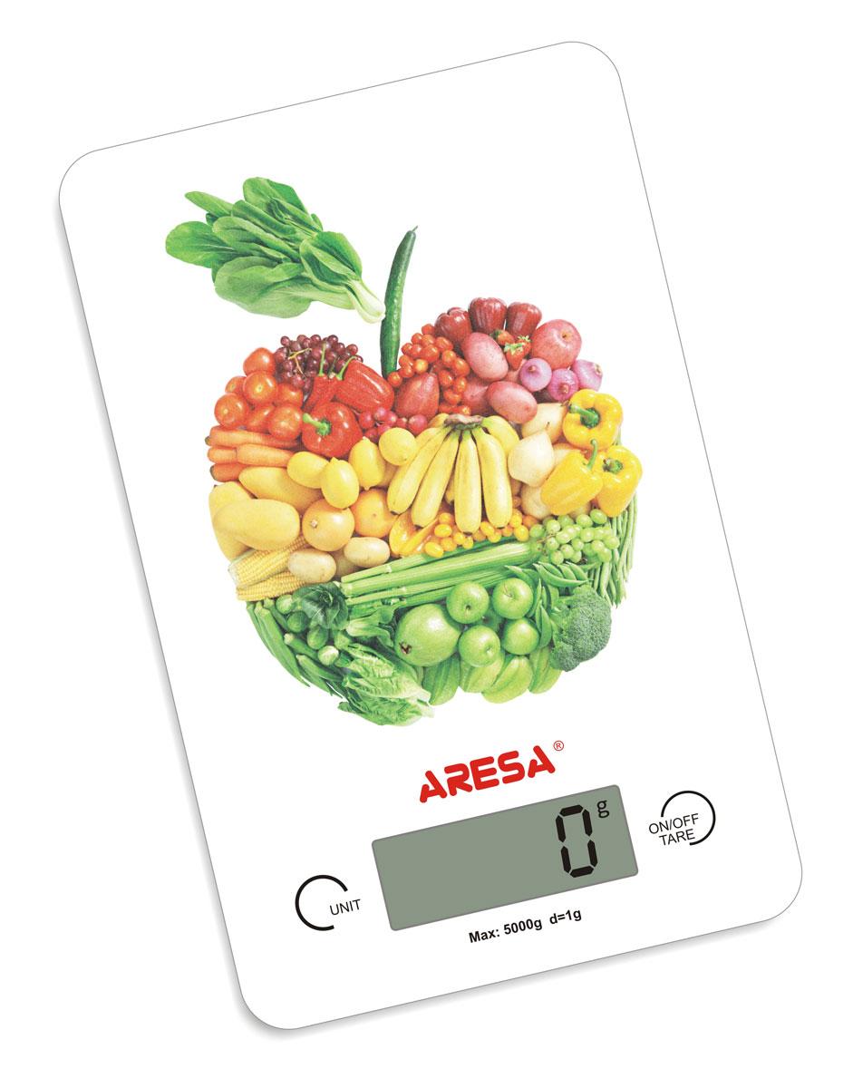 Aresa SK-409 кухонные весыSK-409Кухонные электронные весы Aresa SK-409 - незаменимые помощники современной хозяйки. Они помогут точно взвесить любые продукты и ингредиенты. Кроме того, позволят людям, соблюдающим диету, контролировать количество съедаемой пищи и размеры порций. Предназначены для взвешивания продуктов с точностью измерения 1 грамм. Минимальная нагрузка: 5 г