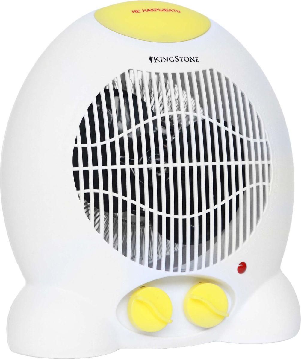 KingStone FH-809 тепловентиляторKingStone FH-809Тепловентилятор KingStone FH-809 служит для быстрого прогрева помещения с наименьшими затратами электроэнергии. Принудительно нагнетая горячий воздух, тепловентилятор заставляет его циркулировать, смешиваясь с холодным, благодаря чему прогрев помещения происходит значительно быстрее, чем в случае обычных обогревателей. Тепловентилятор KingStone FH-809 может работать в режиме обычного вентилятора, а также нагнетать теплый или горячий воздух. Используя разные режимы работы можно добиться установления в помещении устойчивого и комфортного микроклимата. Материал корпуса - термостойкий пластик абсолютно безвреден и соответствует всем стандартам безопасности. 3 режима работы Режим вентилятора без нагрева, режим теплого потока воздуха и режим горячего потока воздуха.
