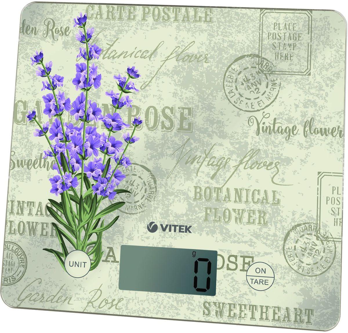 Vitek VT-8020(BL) весы кухонные