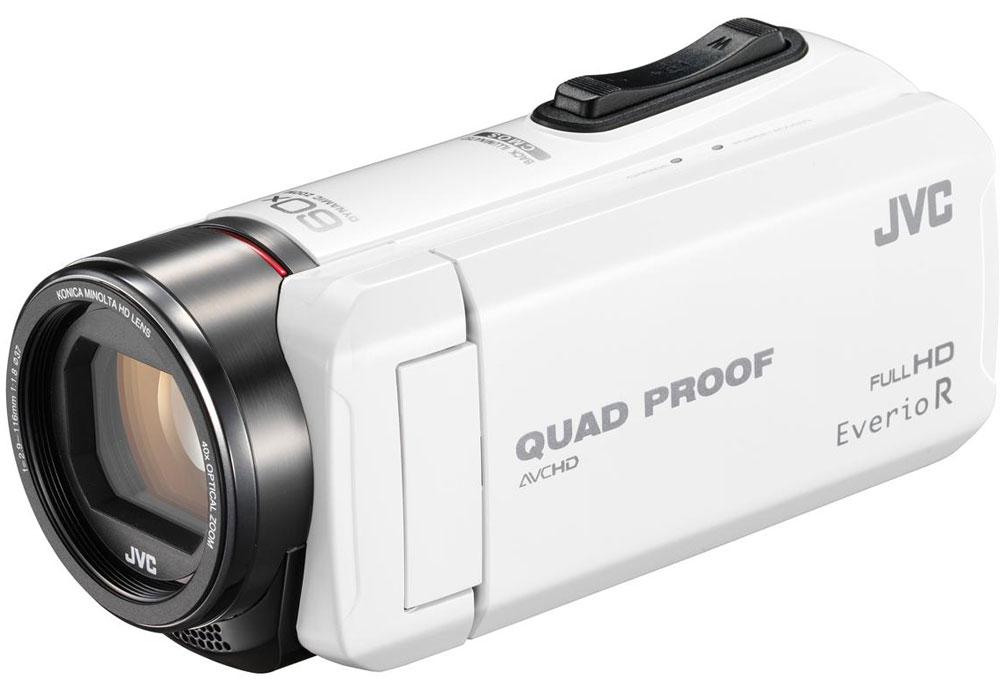 JVC GZ-R415, White цифровая видеокамера