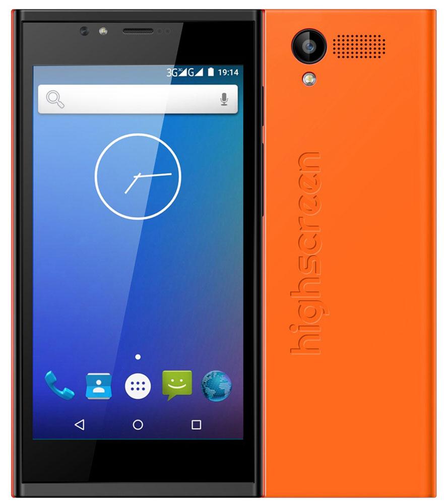 Highscreen Pure Power, Orange