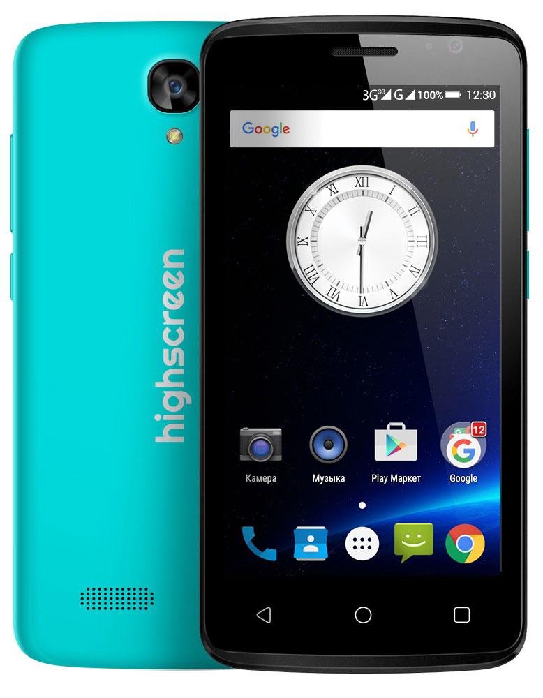 Highscreen Easy F, Blue23426HIghscreen Easy F — это первый и самый доступный смартфон новой линейки Easy. Матовый шероховатый корпус имеет идеальную эргономику и сбалансированные размеры для комфортного управления одной рукой. Если ты мечтаешь о смартфоне, но нет желания переплачивать - Easy F станет правильным выбором и позволит получить максимальный опыт от его использования. Highscreen Easy F работает на базе чистого Android Lollipop, производители преднамеренно не ставят дополнительные приложения и игры, что бы не занимать лишнюю память и дать свободу выбора. Сбалансированный и энергоэффективный процессор MT 6580 легко поможет с решением и выполнением повседневных задач. Удобный дисплей 4.5, позволит насладиться четким и ярким изображением, испытай все переплести качественного экрана в твоем смартфоне! Ты можешь легко перейти на Easy благодаря поддержки сразу двух SIM-карт. Первая SIM имеет стандартный размер Mini, а вторая Micro. Выбирай выгодные тарифы и...