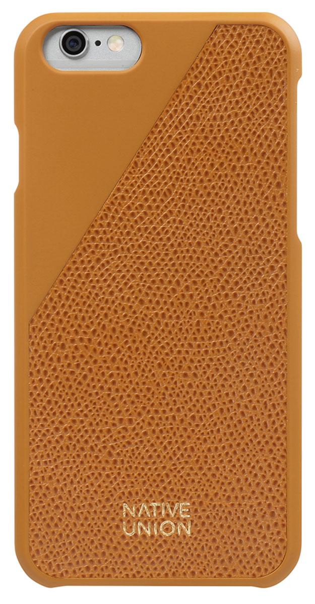 Native Union CLIC Leather чехол из телячьей кожи для iPhone 6/6s, GoldCLIC-GLD-LE-H-6SЭлегантный чехол Native Union CLIC Leather из натуральной телячьей кожи. Фабрика по выделки кожи находится во Франции, мастера имеют богатый опыт, который передается от поколения к поколению. Используется ручной труд с целью достижения высочайшего качества. Чехол легкий, стильный, с богатой цветовой палитрой. Это не просто защита вашего iPhone, это атрибут роскоши, где все складывается из мелочей.