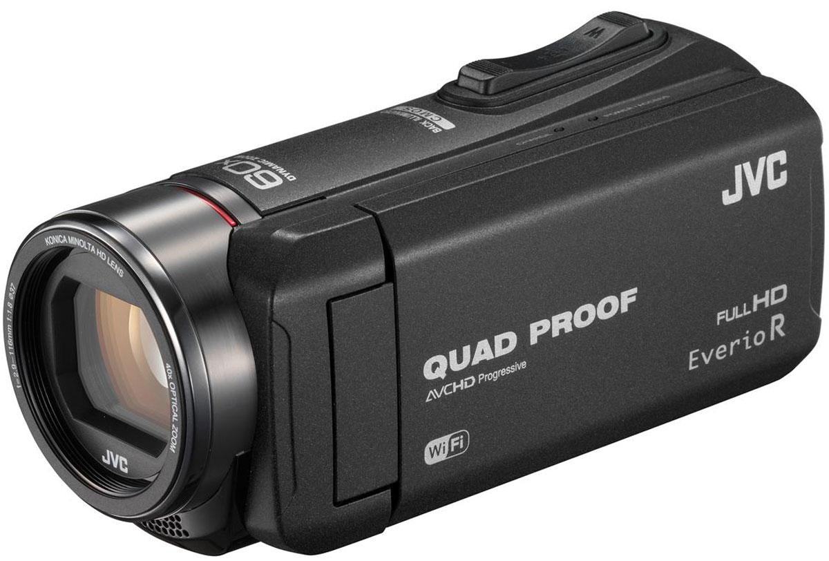 JVC GZ-RX615, Black цифровая видеокамера