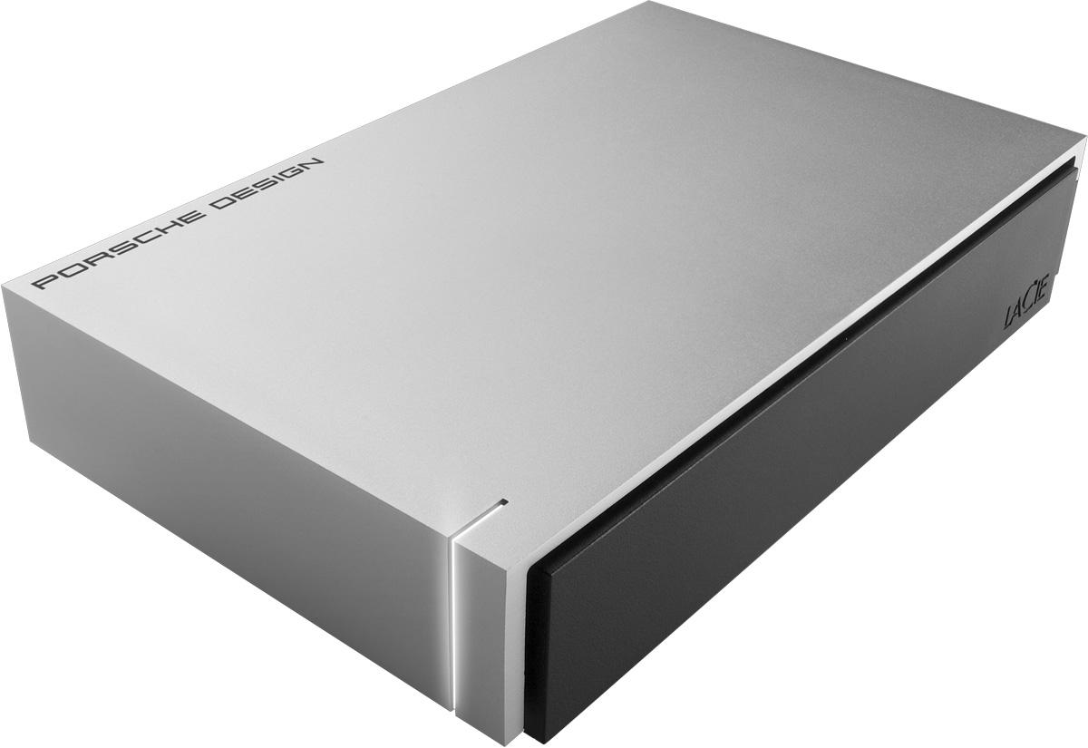 LaCie Porsche Design Desktop Drive 5TB, Silver внешний жесткий диск