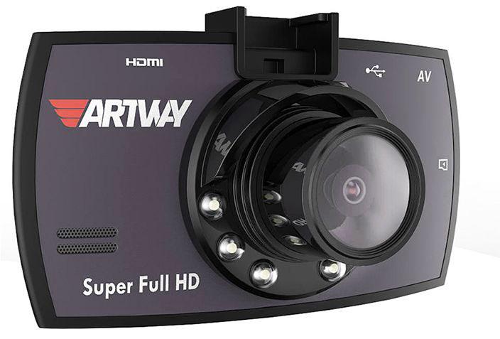 Artway 700, Black видеорегистратор