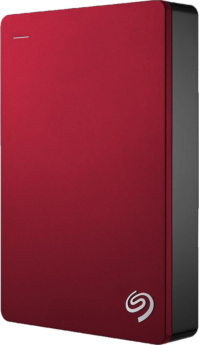 Seagate Backup Plus Portable 4TB USB 3.0, Red внешний жесткий диск (STDR4000902)