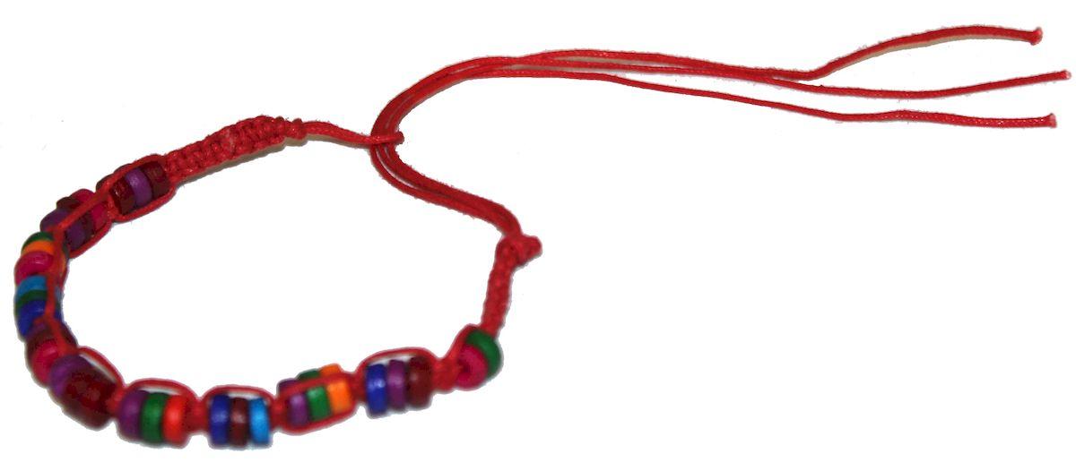 Браслет-фенечка Ethnica, цвет: мультиколор. 338015338015-мультиколорОригинальный браслет-фенечка Ethnica выполнен из текстиля и костяных бусин. Браслет регулируется по размеру при помощи скользящего замка.