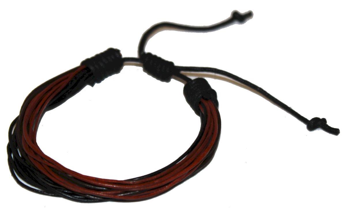 Браслет Ethnica, цвет: черный, коричневый. 359035359035-черный,коричневый