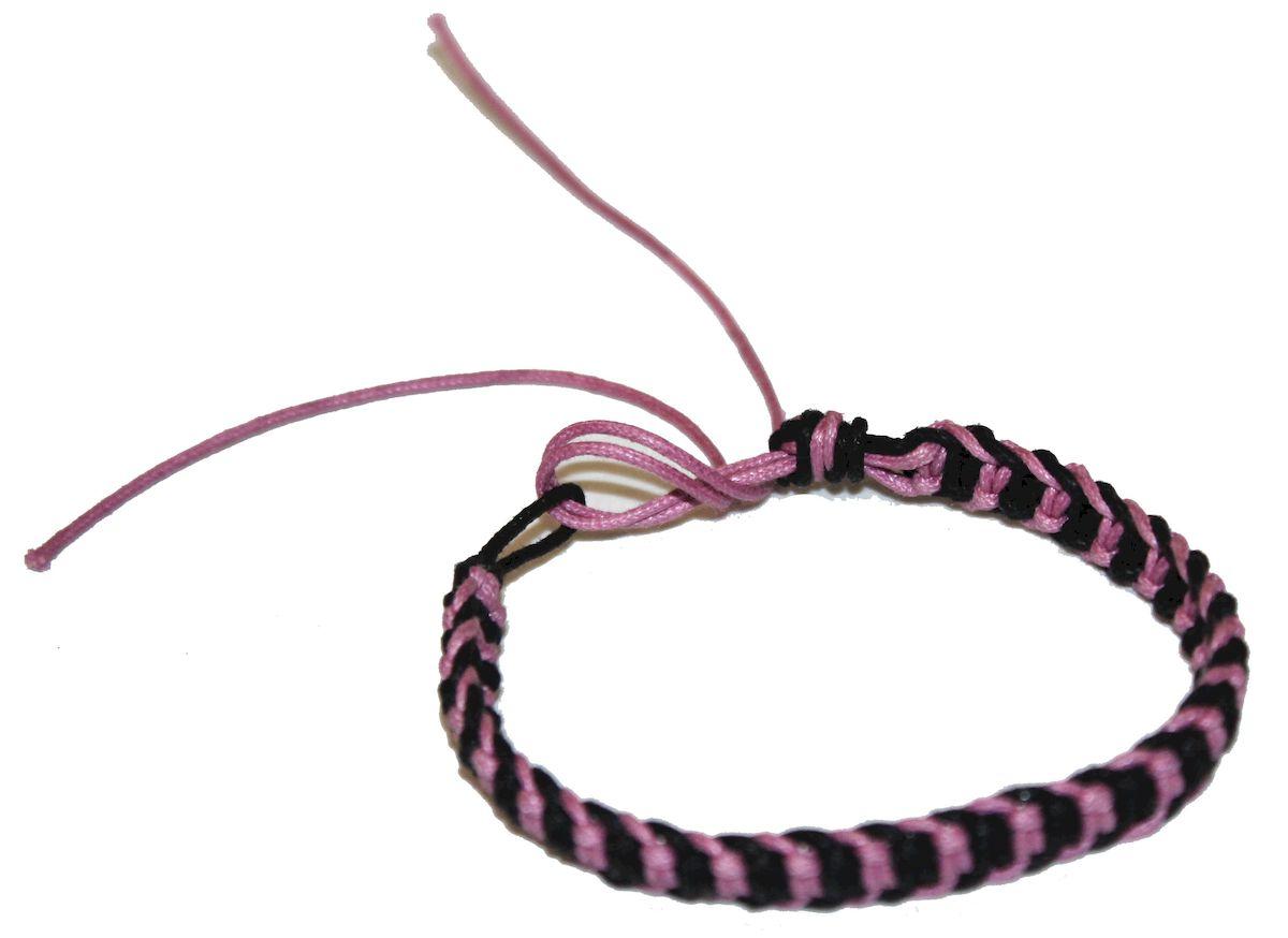 Браслет-фенечка Ethnica, цвет: сиреневый. 337012337012-сиреневыйОригинальный браслет-фенечка Ethnica выполнен из разноцветных нитей. Браслет регулируется по размеру при помощи скользящего замка.