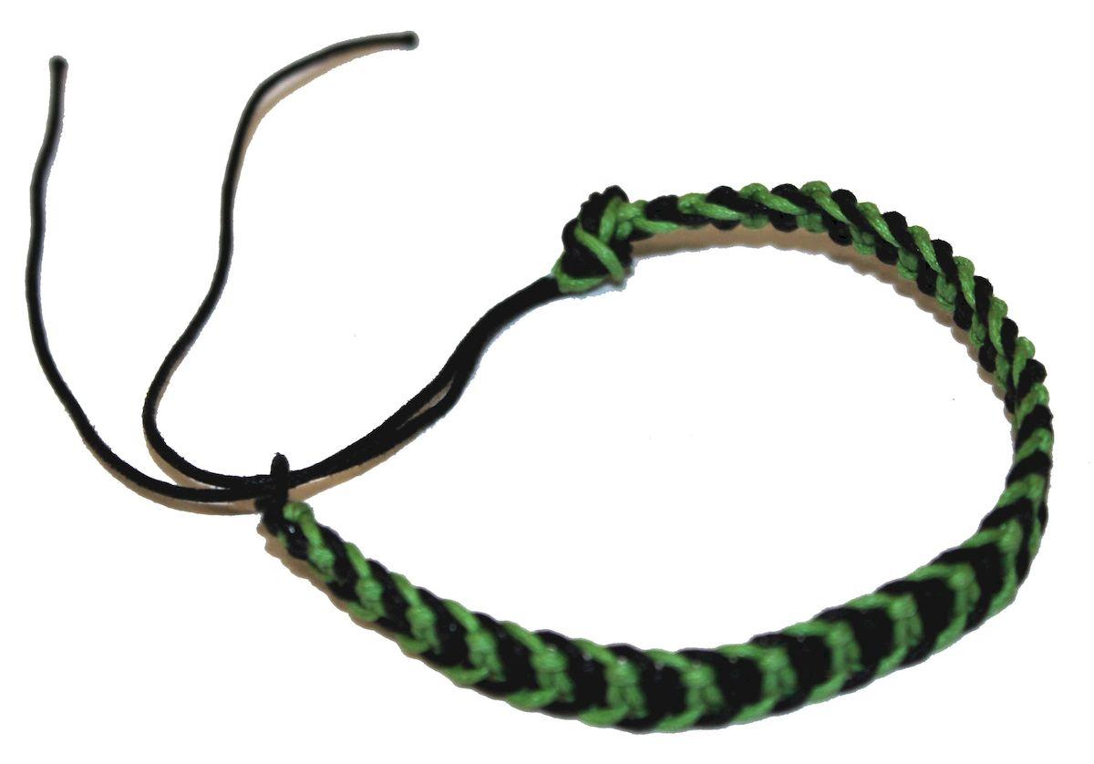 Браслет-фенечка Ethnica, цвет: зеленый. 337012337012-зеленыйОригинальный браслет-фенечка Ethnica выполнен из разноцветных нитей. Браслет регулируется по размеру при помощи скользящего замка.