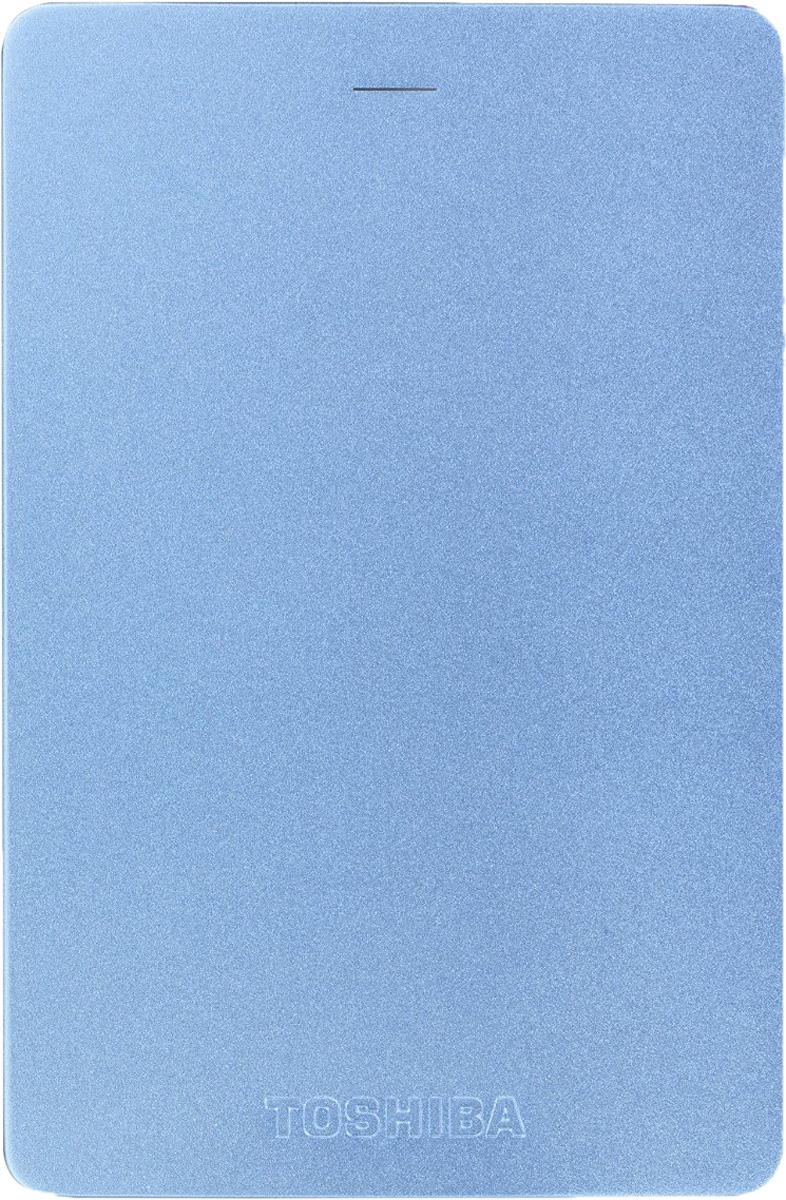 Toshiba Canvio Alu 500GB, Blue внешний жесткий диск (HDTH305EL3AA)