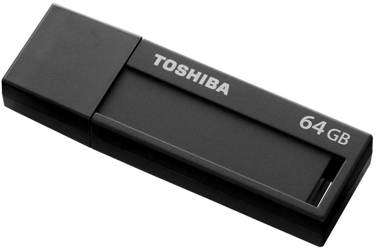 Toshiba U302 64GB, Black флеш-накопительTHN-U302K0640M4Перемещайте видеоролики и другие большие файлы с помощью флэш-накопителя Toshiba U302, поддерживающего стандарт Super Speed USB 3.0. Этот накопитель новой серии позволяет перемещать данные в два раза быстрее, чем при использовании USB 2.0! Эти накопители также можно использовать с устройствами с интерфейсом USB 2.0. Toshiba U302 разработан таким образом, чтобы соответствовать современному стилю жизни, поэтому имеет простую и продуманную конструкцию. Для накопителей этой серии доступен широкий выбор цветов корпуса и объема памяти. Специальное место для заметок размером 9 x 33 мм и этикетки для записей позволяют быстро найти необходимый накопитель. Функциональная минималистичная конструкция обеспечивает легкость использования устройства.