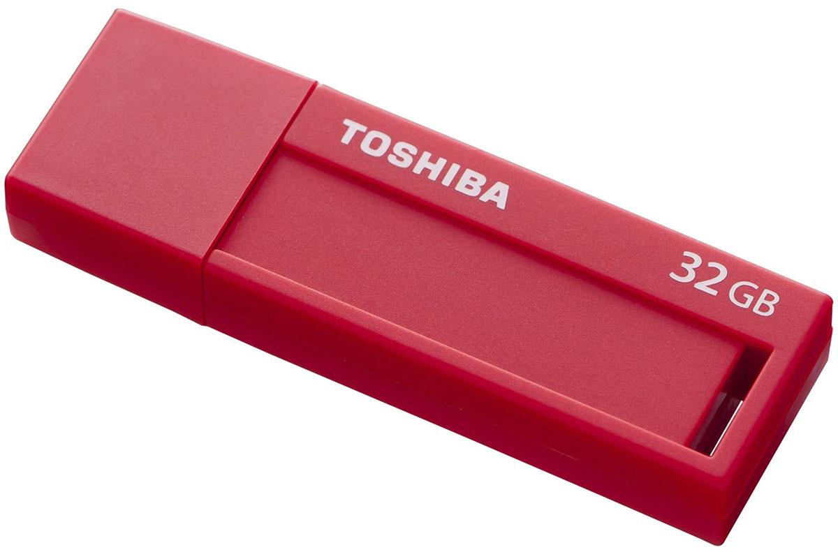 Toshiba U302 32GB, Red флеш-накопитель