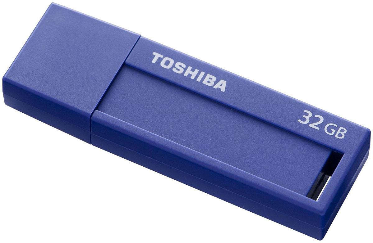 Toshiba U302 32GB, Blue флеш-накопитель