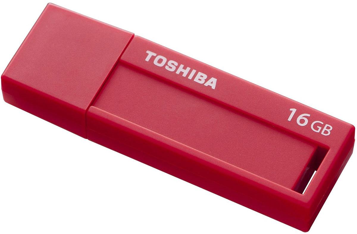 Toshiba Daichi 16GB, Red флеш-накопитель