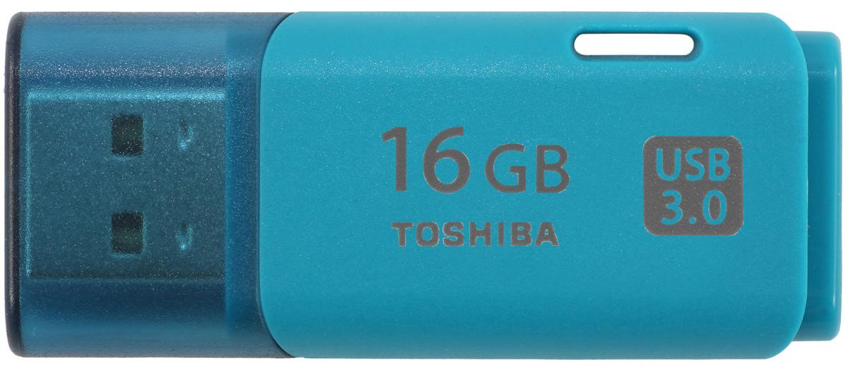 Toshiba Hayabusa 16GB, Aqua флеш-накопитель