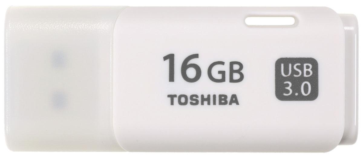 Toshiba Hayabusa 16GB, White флеш-накопитель