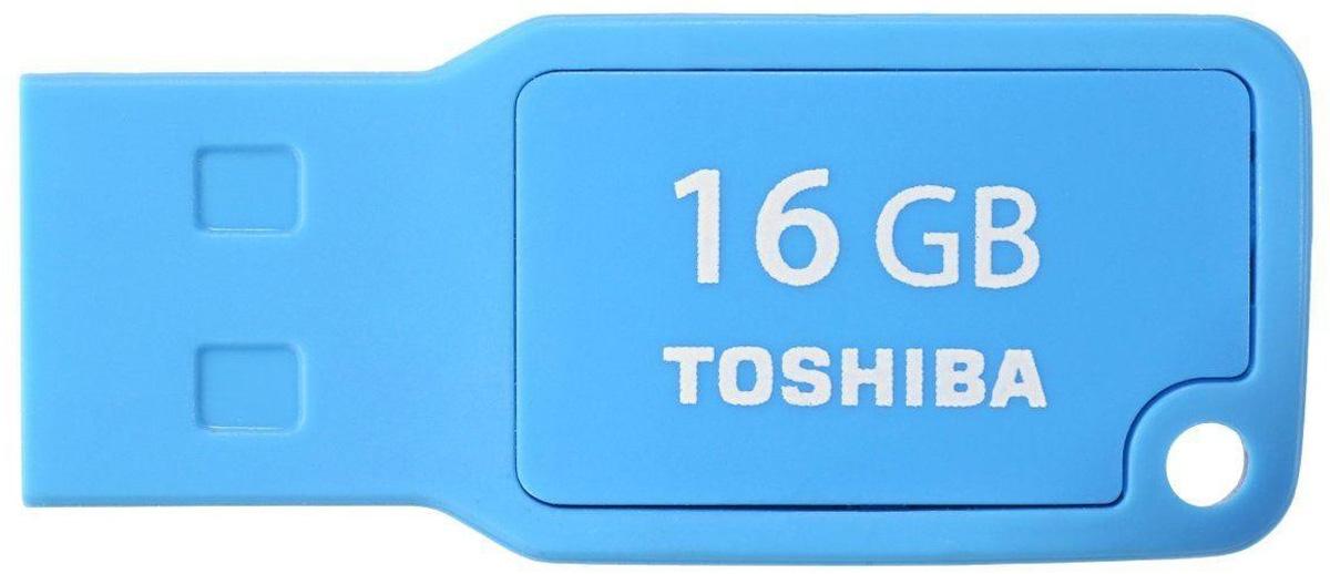 Toshiba Mikawa 16GB, Cyan флеш-накопитель