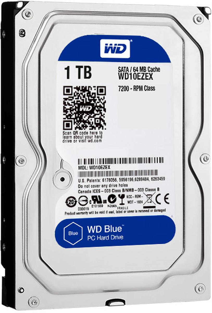 WD Blue 1TB внутренний жесткий диск (WD10EZEX)