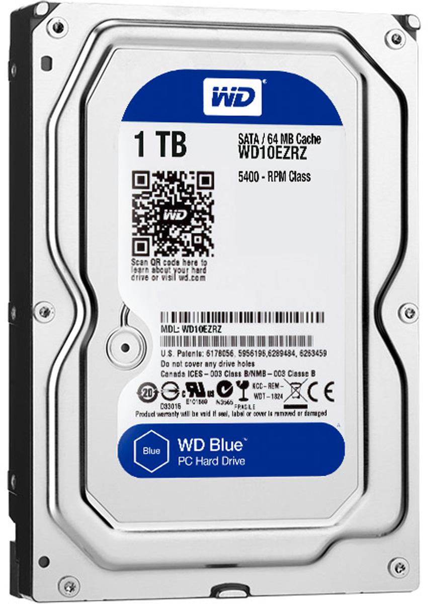WD Blue 1TB внутренний жесткий диск (WD10EZRZ)WD10EZRZУвеличьте емкость ПК с помощью накопителей WD Blue, разработанных специально для настольных и моноблочных ПК. Линейка накопителей WD Blue позволяет увеличить объем хранения данных до 6 ТБ. Накопители WD поставляются с бесплатным доступом к программе WD Acronis True Image. Функции резервного копирования и восстановления позволяют легко сохранять и извлекать личные данные без переустановки системы. Каждый накопитель WD Blue проектируется, тестируется и производится на совесть. Кроме того, на все накопители этой линейки предоставляется двухгодичная гарантия. Технология бесконтактного считывания NoTouch обеспечивает безопасное расположение записывающей головки относительно поверхности накопителя для защиты данных. Данная модель также оснащена функцией IntelliSeek. Она вычисляет оптимальное время поиска, что помогает уменьшить уровень энергопотребления, шума и вибрации.
