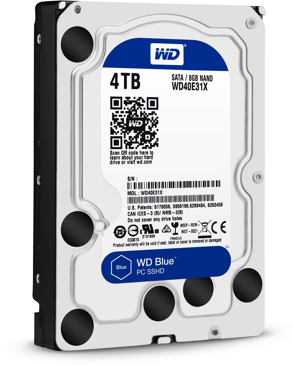 WD Blue 4TB гибридный жесткий диск (WD40E31X)WD40E31XУвеличьте емкость ПК с помощью накопителей WD Blue, разработанных специально для настольных и моноблочных ПК. Линейка накопителей WD Blue позволяет увеличить объем хранения данных до 6 ТБ. Повысьте быстродействие и емкость своей настольной системы с помощью накопителя WD Blue, который объединяет в себе возможности жесткого диска и твердотельного накопителя, обеспечивая максимальную скорость доступа к данным и внушительную емкость. Накопители WD поставляются с бесплатным доступом к программе WD Acronis True Image. Функции резервного копирования и восстановления позволяют легко сохранять и извлекать личные данные без переустановки системы. Каждый накопитель WD Blue проектируется, тестируется и производится на совесть. Кроме того, на все накопители этой линейки предоставляется двухгодичная гарантия. Технология бесконтактного считывания NoTouch обеспечивает безопасное расположение записывающей головки относительно поверхности...