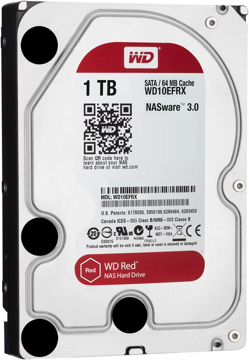 WD Red 1TB внутренний жесткий диск (WD10EFRX)WD10EFRXЧтобы быстро и удобно транслировать медиафайлы, создавать резервные копии данных, хранящихся на ПК, обмениваться файлами и работать с цифровыми материалами, установите в сетевом устройстве хранения накопители WD Red. Удобная интеграция, надежная защита данных и оптимальное быстродействие для систем NAS с высокими требованиями. Транслируйте цифровые материалы, выполняйте их резервное копирование, систематизируйте их и отправляйте на телевизор, ПК и другие устройства. Технология NASware повышает совместимость ваших накопителей с системами NAS, обеспечивая тем более высокое качество воспроизведения цифровых материалов на устройствах. В основе процветания любого бизнеса лежат производительность и эффективность. И именно этими двумя принципами WD руководствовались, разрабатывая накопители Red. Благодаря накопителю WD Red в системах NAS вы сможете предоставлять общий доступ к файлам и выполнять их резервное копирование с той же скоростью, с какой...