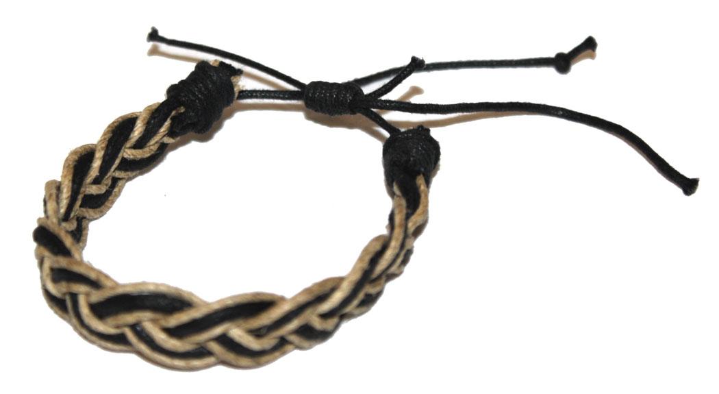 Браслет Ethnica, цвет: мультиколор. 441035_2441035-мультиколор-2Оригинальный браслет Ethnica выполнен из туго переплетенных между собой кожаных нитей и шнурков. Браслет регулируется по размеру при помощи скользящего замка.