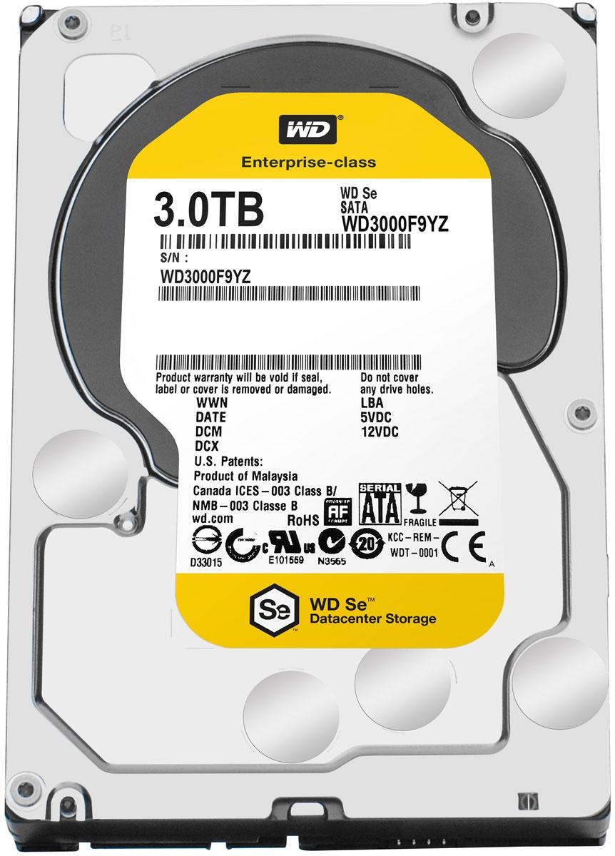 WD Se 3TB внутренний жесткий диск (WD3000F9YZ)