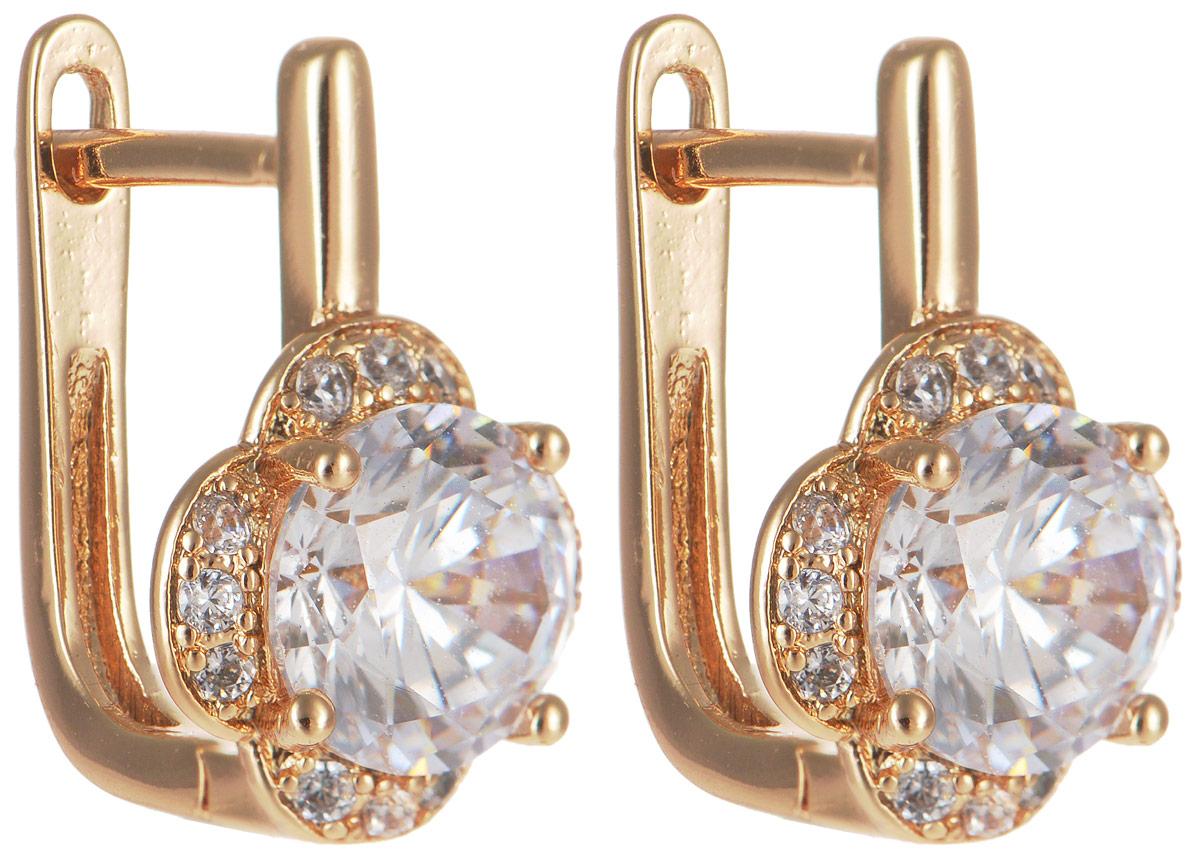 Серьги Taya, цвет: золотистый. T-B-11673T-B-11673-EARR-GOLDМодные позолоченные серьги Taya изготовлены из бижутерного сплава и оформлены цирконами. Модель выполнена в виде цветочков. Застегивается изделие с помощью английского замка. Оригинальные серьги внесут изюминку, как в повседневный, так и в выходной образ и позволят выделиться среди окружающих.