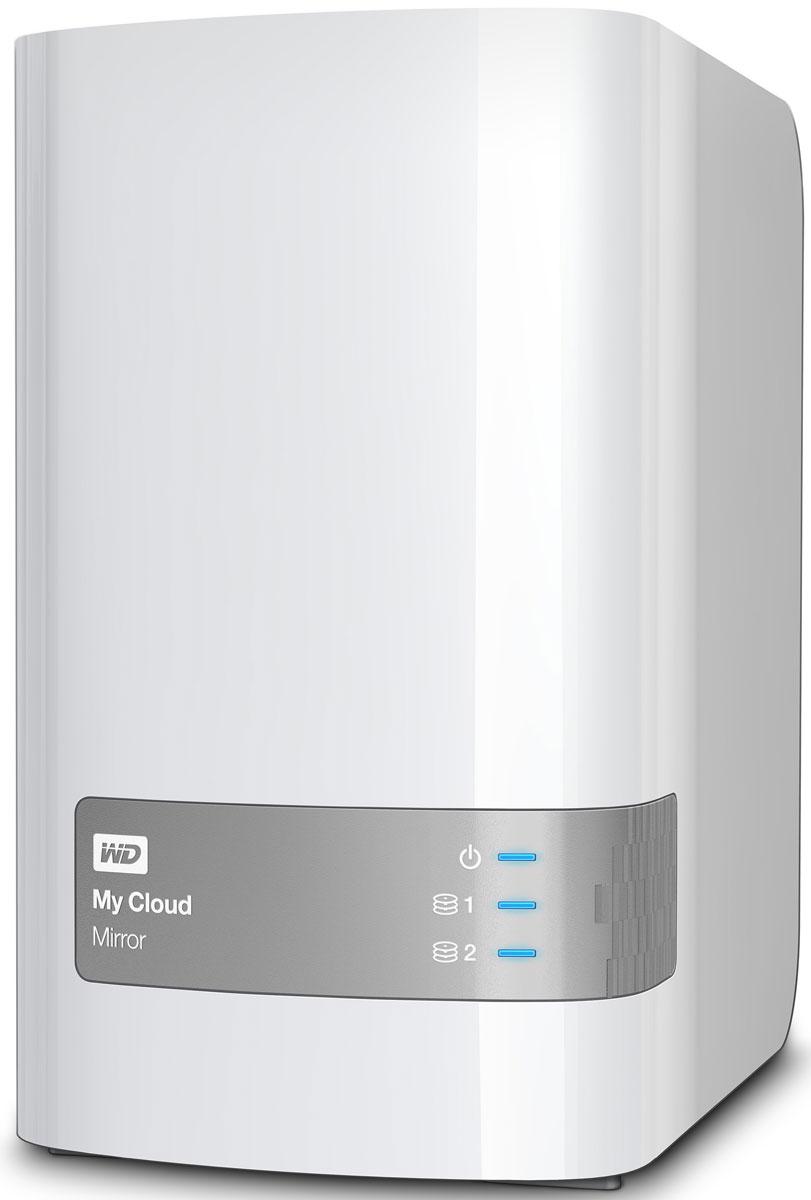 WD My Cloud Mirror 4TB сетевое хранилище (WDBWVZ0040JWT-EESN)WDBWVZ0040JWT-EESNВ отличие от общедоступного облака, персональное облачное хранилище My Cloud Mirror позволяет хранить все данные в безопасной домашней сети, а не в неизвестном месте. К тому же вы получаете столько места для хранения данных, сколько потребуется — и никакой абонентской платы. Персональное облачное хранилище My Cloud Mirror использует два жестких диска и работает в режиме зеркальной записи данных (RAID 1). Это значит, что ваши бесценные данные хранятся на одном из дисков и автоматически копируются на второй. Если даже (маловероятно, но вдруг) один из дисков выйдет из строя, у вас все равно не будет повода для беспокойства, ведь на втором диске все ваши данные останутся в целости и сохранности. Систематизируйте все семейные фотографии, видеозаписи и музыку с сохранением резервных копий в одном надежном хранилище и получите доступ к этим файлам с любого вашего устройства. Благодаря доступу через Интернет и с мобильных устройств My Cloud дает...