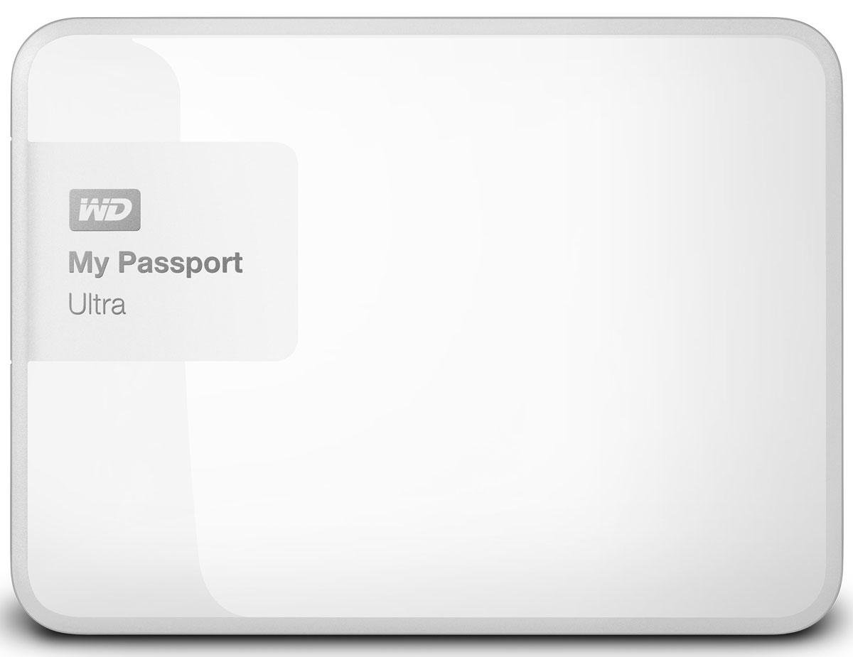 WD My Passport Ultra 3TB, White внешний жесткий диск (WDBNFV0030BWT-EEUE)