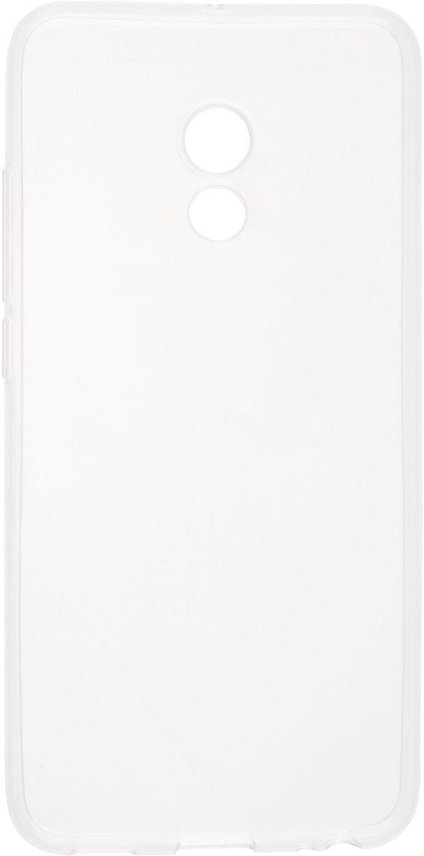 Skinbox Slim Silicone чехол для Meizu Pro 6, прозрачный