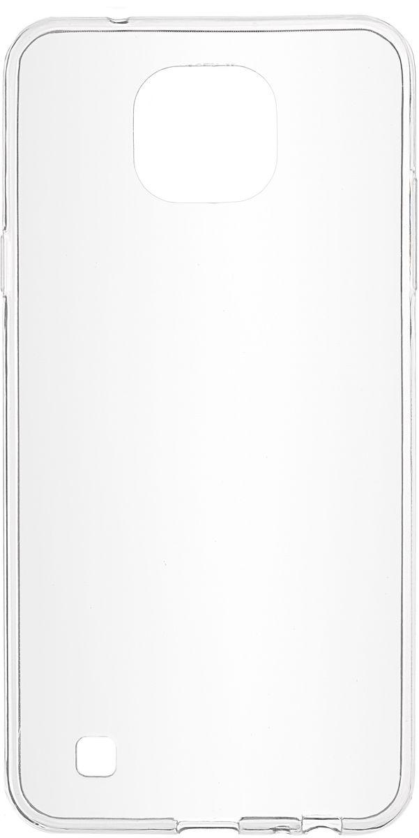 Skinbox Slim Silicone чехол для LG X Cam, прозрачный