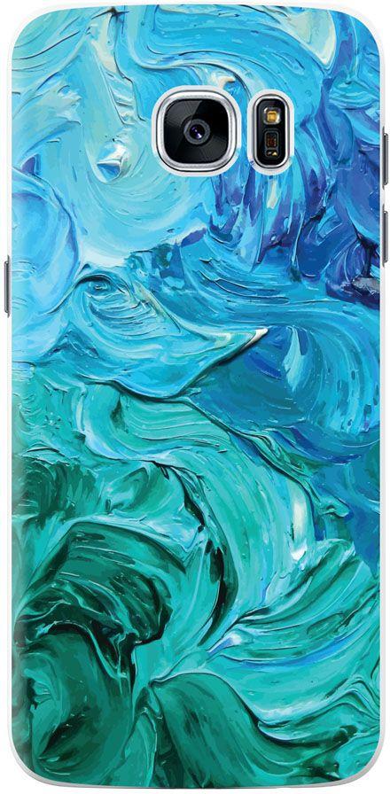 Deppa Art Case чехол для Samsung Galaxy S7 Edge, Art Волны102683Чехол Deppa Art Case для Samsung Galaxy S7 Edge - случай редкого сочетания яркости и чувства меры. Это стильная и элегантная деталь вашего образа, которая всегда обращает на себя внимание среди множества вещей. Благодаря покрытию UV print чехол невероятно приятен на ощупь, поэтому смартфон не хочется выпускать из рук. Ультратонкий чехол (толщиной 1 мм) повторяет контуры самого девайса, при этом готов принимать на себя удары - последствия непрерывного ритма городской жизни.
